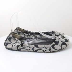 Coach Aly Ballet Flats size 7.5